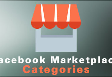 facebook marketplace categories
